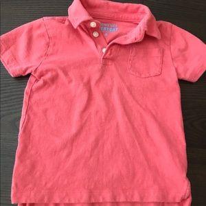 Crewcuts by J Crew Boys Slub Cotton Polo Shirt 3T